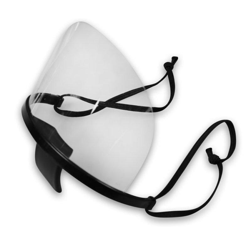 Διάφανη Πλαστική Προστατευτική Μάσκα Προσώπου Πολλαπλών Χρήσεων.
