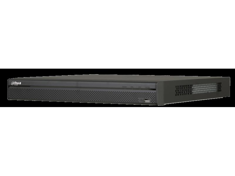 Dahua Δικτυακό Καταγραφικό IP 8 καναλιών με 8 PoE και 2 εσωτερικούς σκληρούς.