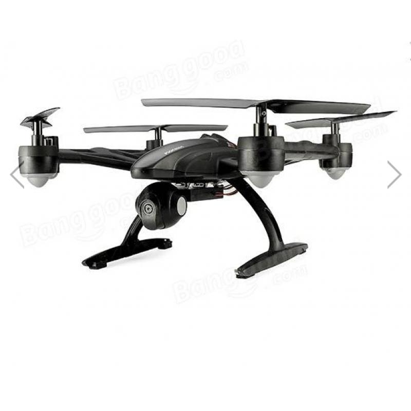 Τετρακόπτερο με μονιτορ και κάμερα wifi drone 720p jxd 509g 5.8g