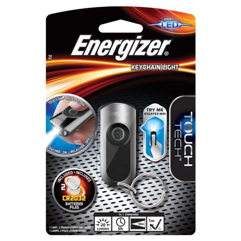 Energizer Hi-Tech LED Μπρελόκ με 1 LED και φωτεινότητα 20 lumens.