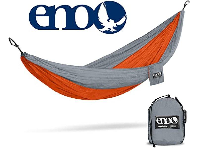 Eno-010 Αιώρα Διπλή Eno Double Nest Orange/Grey