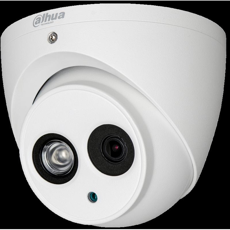 Dahua Ενσύρματη Κάμερα Dome 2MP, με φακό 2.8mm και IR50m.