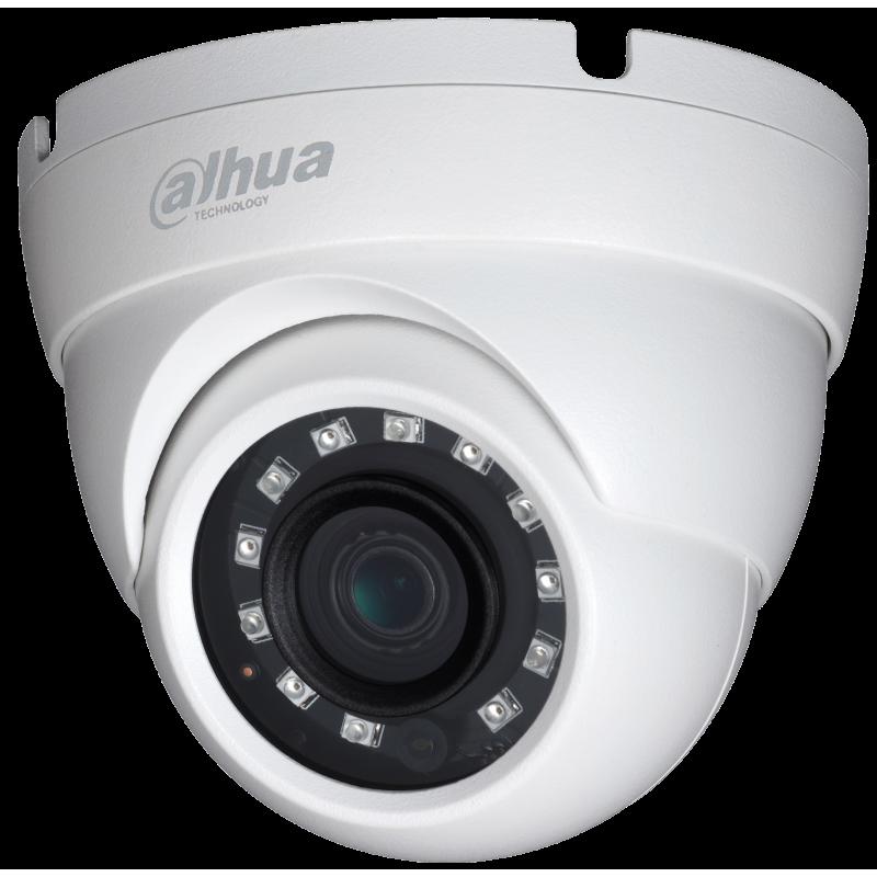 Dahua Ενσύρματη Κάμερα Dome 4MP, με φακό 2.8mm και IR 30m