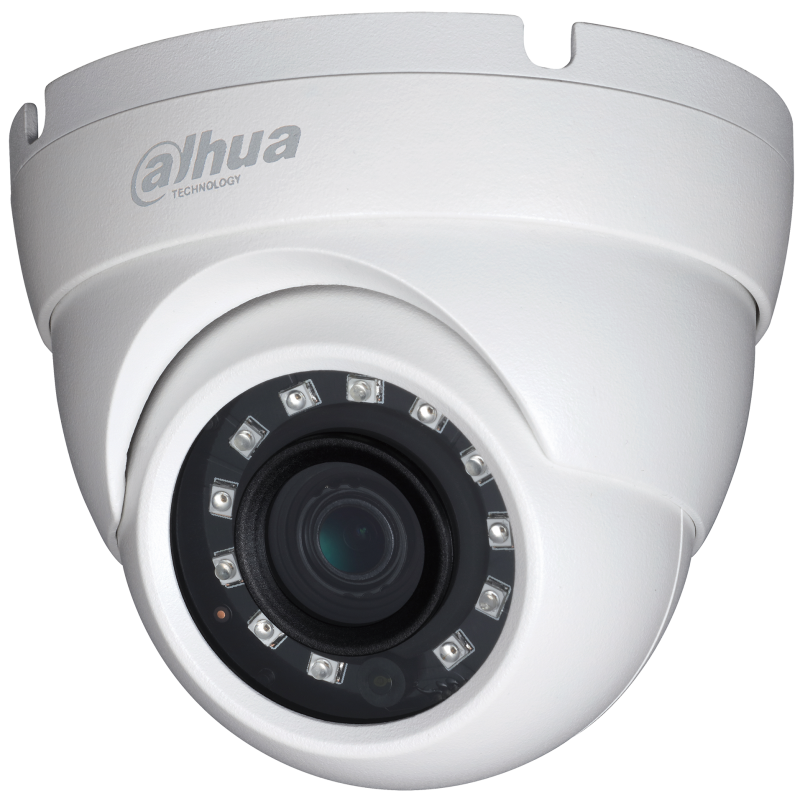 Dahua Ενσύρματη Κάμερα Dome 2MP, με φακό 2.8mm και IR 20m