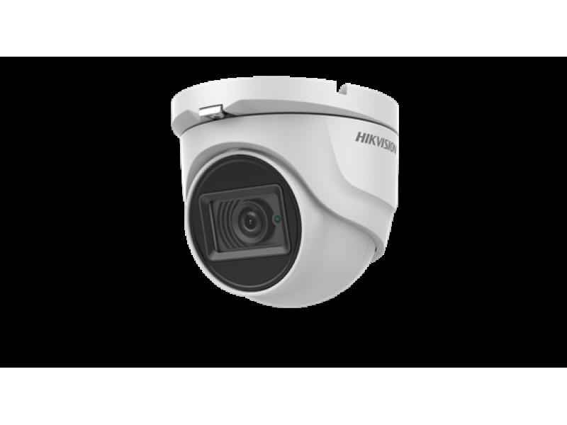 Hikvision Ενσύρματη Κάμερα Dome 5MP για πολύ χαμηλό φωτισμό, με φακό 2.8mm και IR60m.