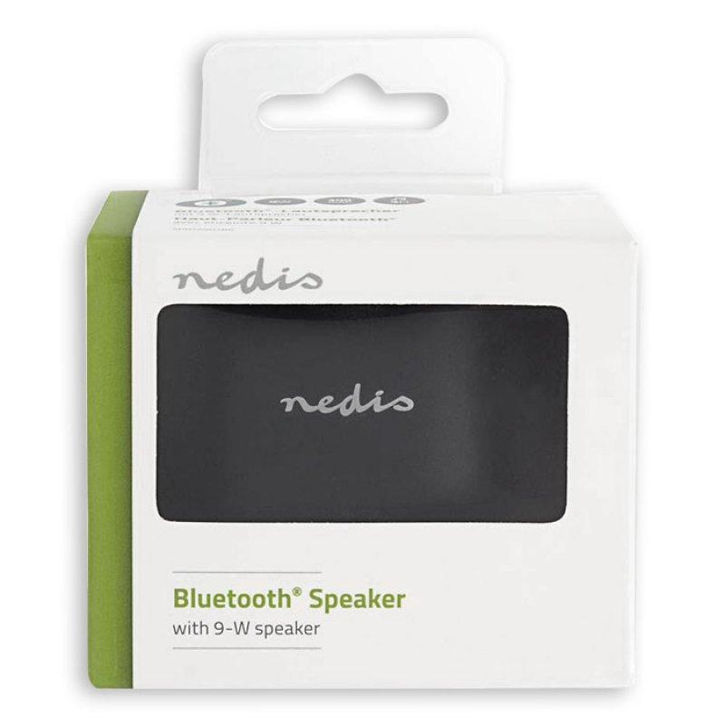 Φορητό ηχείο Bluetooth, 3W σε μαύρο χρώμα
