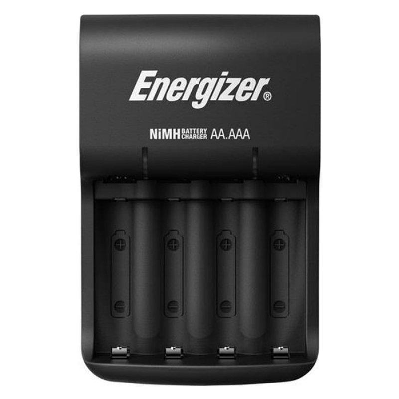 Φορτιστής Μπαταριών AA/AAA Energizer Βase με 4 Επαναφορτιζόμενες Μπαταρίες ΑΑ.