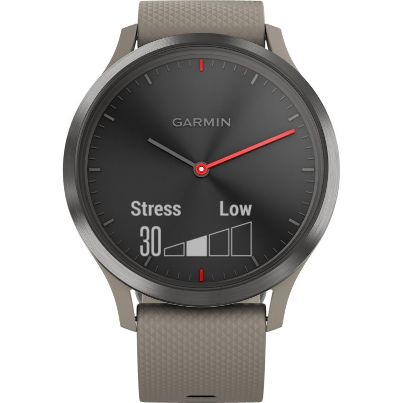 Garmin vivomove HR Sport Black/Sandstone (010-01850-03)