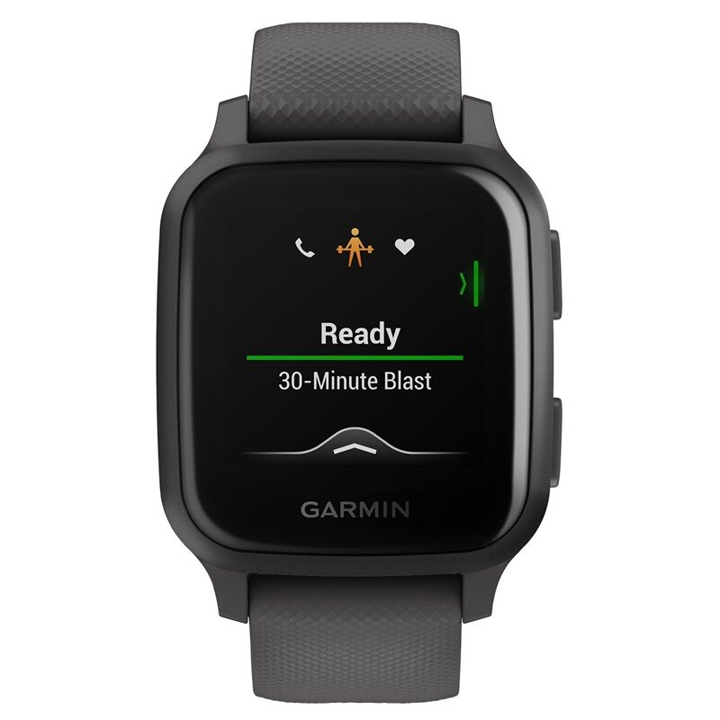 Garmin Venu Sq Music Black with Slate Bezel 010-02426-12