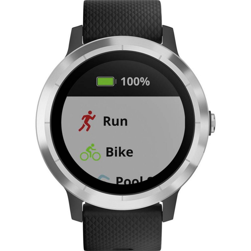 Garmin vivoactive 3 Black/Steel (010-01769-03)