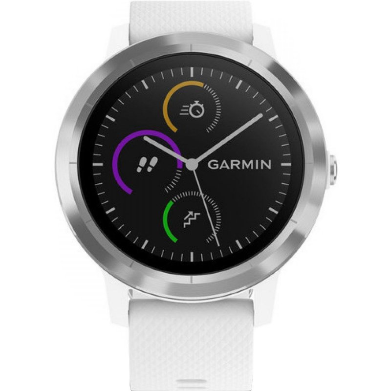 Garmin vivoactive 3 White/Steel (010-01769-22)
