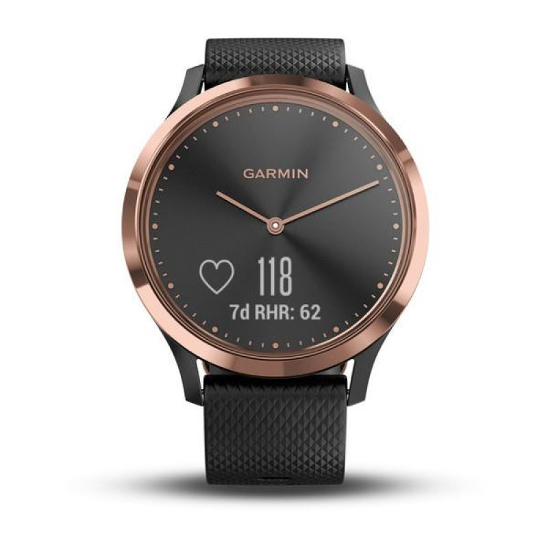 Garmin vivomove HR Sport Rose Gold/Black (010-01850-36)