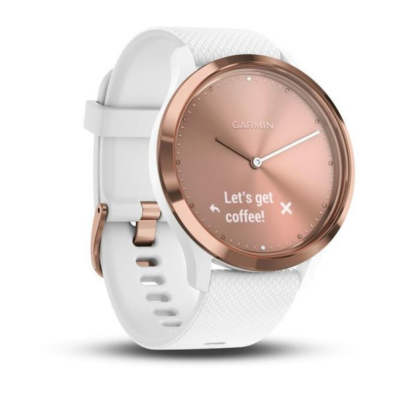 Garmin vivomove HR Sport Rose Gold/White (010-01850-32)