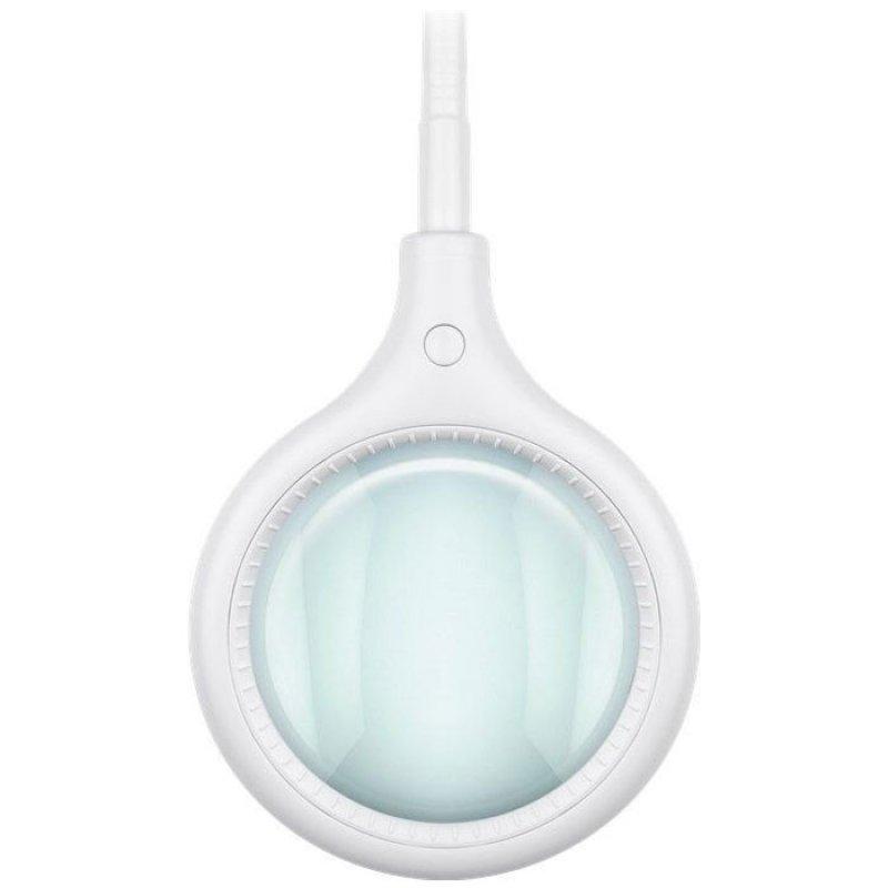 Επιτραπέζιος μεγεθυντικός φακός με λυχνία LED, με clamp.