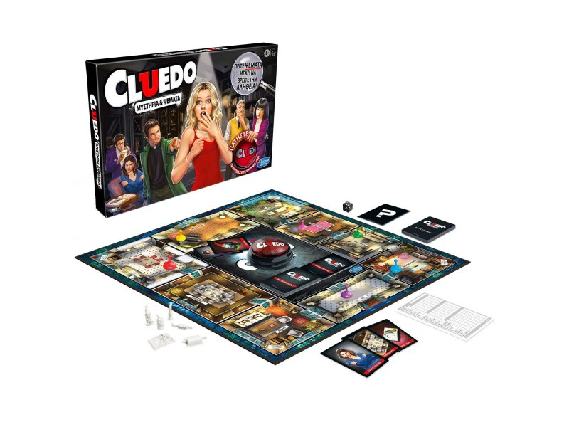 Hasbro Επιτραπέζιο Cluedo Liars Edition (E 9779)