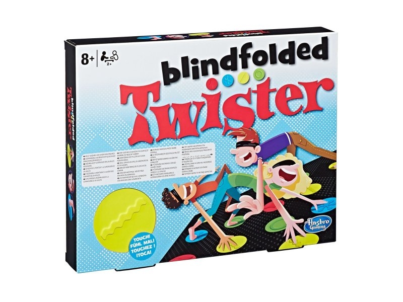 Hasbro Επιτραπέζιο Twister BlindFolder (E1888)