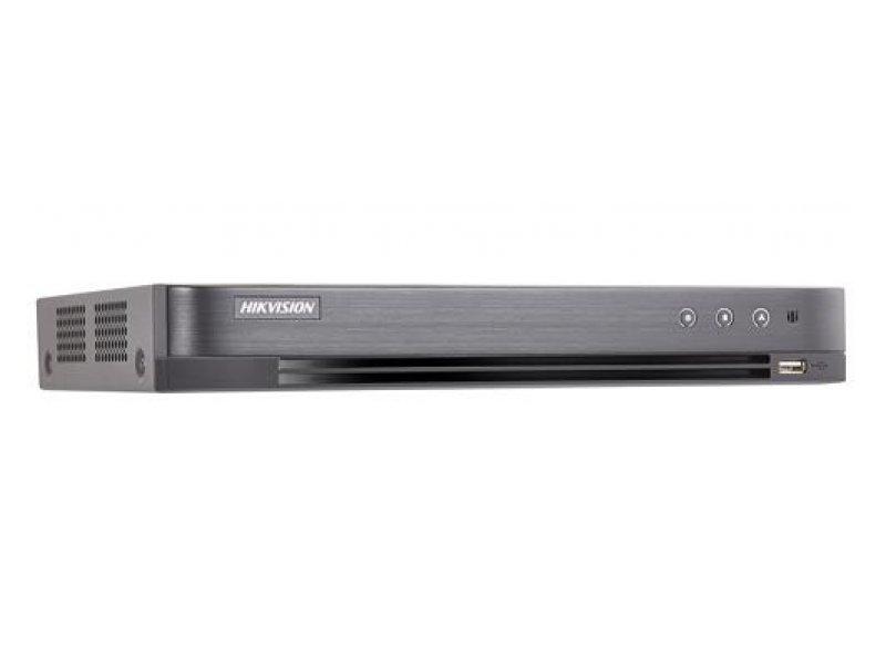 Hikvision Καταγραφικό 4 καναλιών, καταγραφή 1080P, δέχεται 1 εσωτερικό δίσκο.