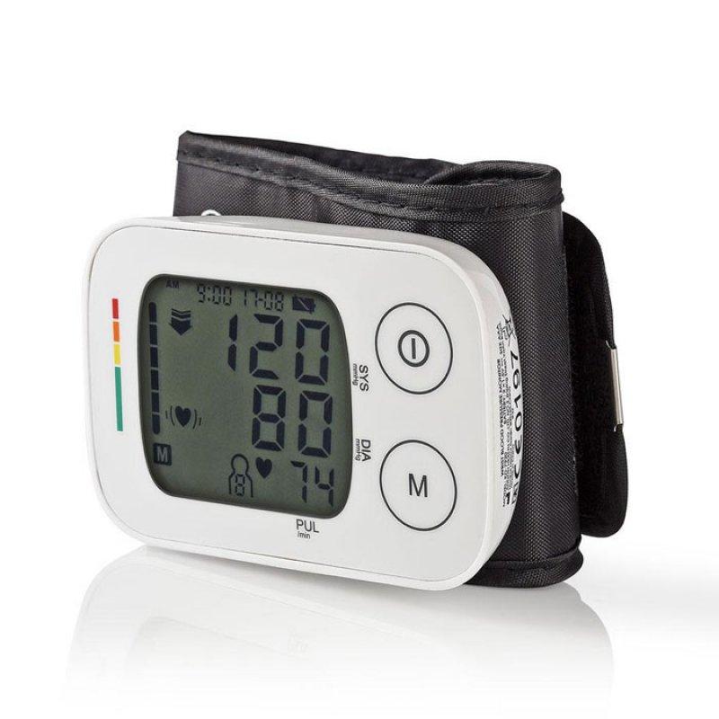 Ηλεκτρονικό Πιεσόμετρο Καρπού Με Οθόνη LCD & Μνήμη για 4 x 30 Μετρήσεις.