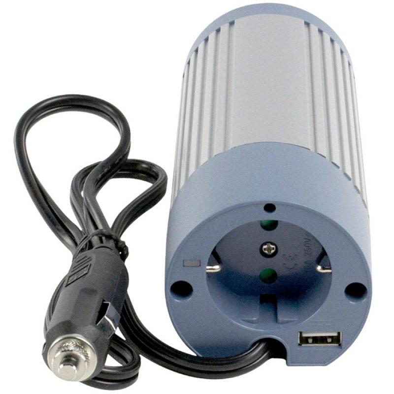 Inverter Hμιτονικού Παλμού 100W 24V DC σε 230V AC που Μετατρέπει την Τάση Εισόδου 24V DC σε 230V AC