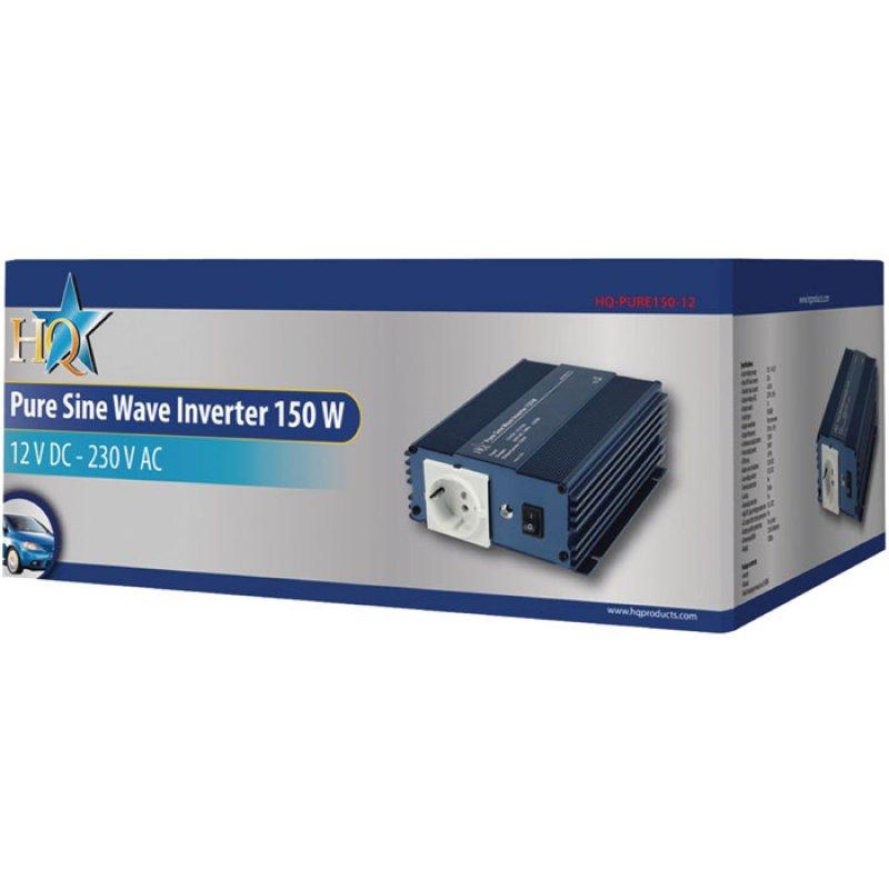 Inverter 150W με Έξοδο Καθαρή Ημιτονική Κυματομορφή που Μετατρέπει την Τάση από 12 V DC σε 230V AC