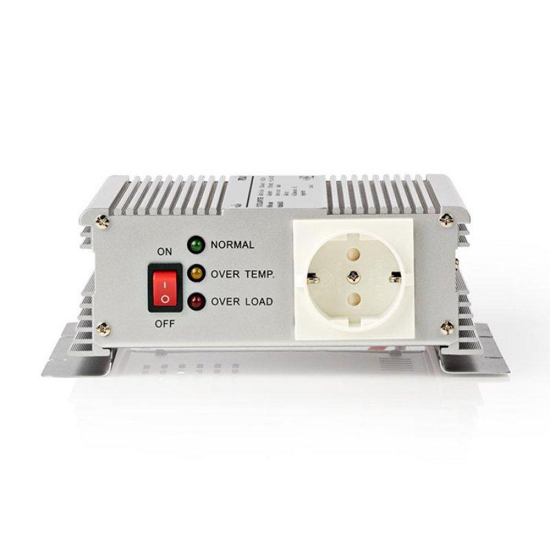 Inverter 600W/12V Με Έξοδο Ημιτονικής Κυματομορφής 12V DC Σε 230V AC