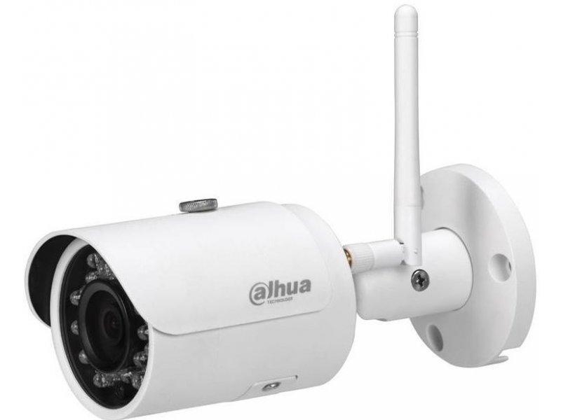 Dahua IP Bullet κάμερα Wi-Fi ανάλυσης 3MP, με φακό 2.8mm και IR30m.