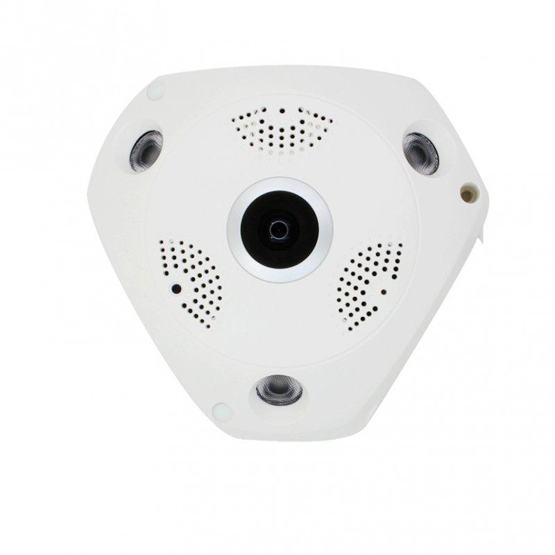 Ip κάμερα πανοραμικής θέασης 360 μοιρών με δυνατότητα καταγραφής