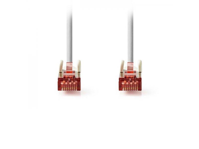 Καλώδιο δικτύου CAT 6, S/FTP patchcable, 15m, σε γκρι χρώμα.