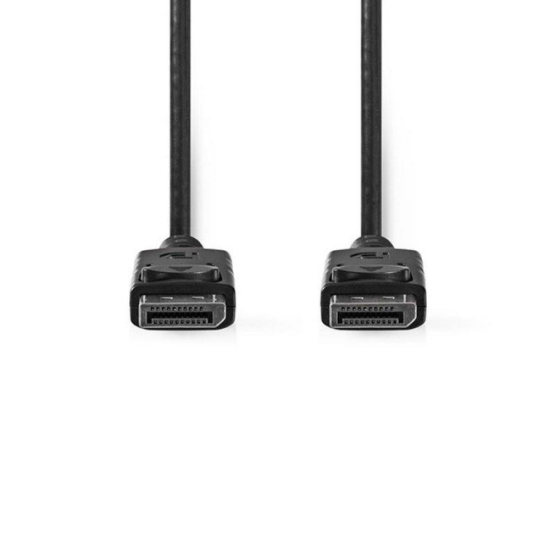 Καλώδιο DisplayPort αρσ. - DisplayPort αρσ., 2.00m, Μαύρο.