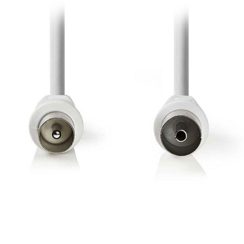 Καλώδιο κεραίας RF αρσ. - RF θηλ. 90dB, 1.5m σε άσπρο χρώμα.
