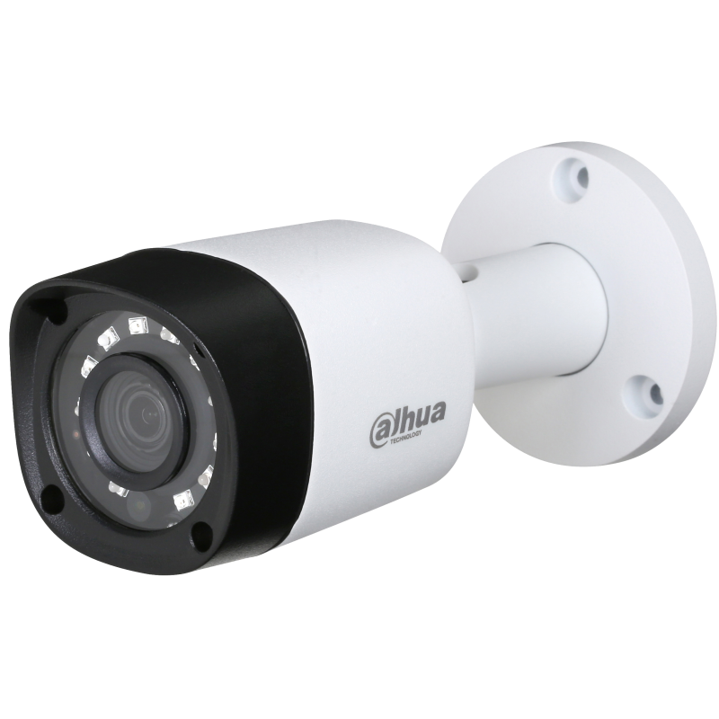 Dahua Ενσύρματη Κάμερα Bullet 2MP, με φακό 3.6mm και IR 20m.