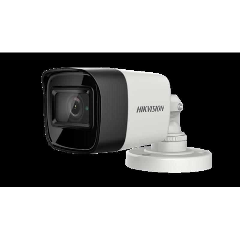 Hikvision Ενσύρματη κάμερα bullet 5MP για νυχτερινή λήψη με φακό 2.8mm και IR30m