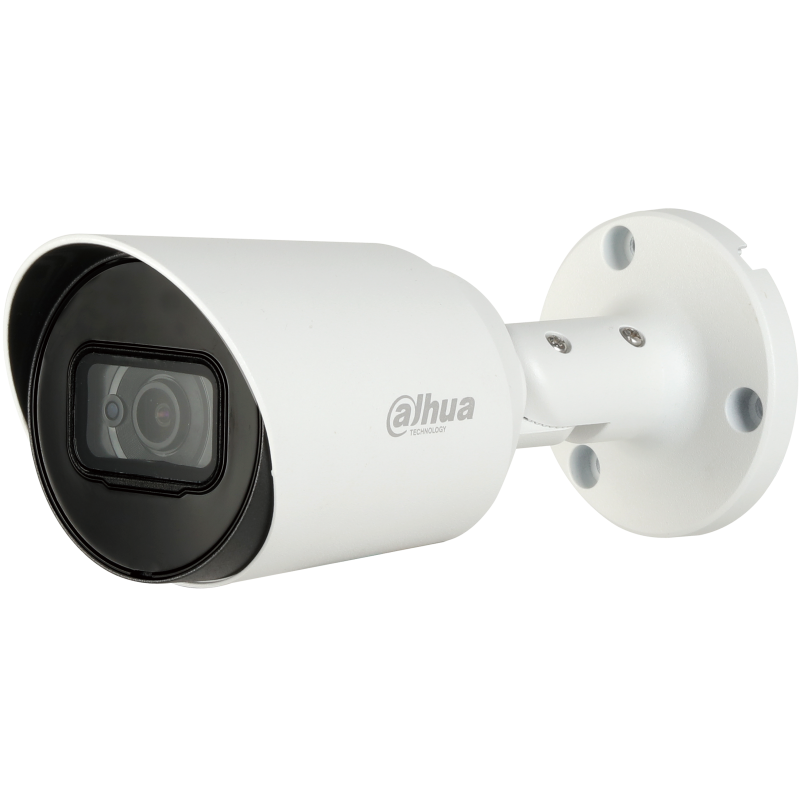 Dahua Ενσύρματη Κάμερα bullet για απόλυτο σκοτάδι με ενσωματωμένο μικρόφωνο και φακό 3.6mm και IR 20m.