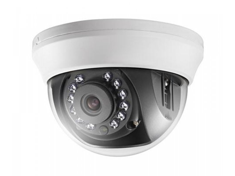 Hikvision Κάμερα Dome 2MP, με φακό 2.8mm και IR20m.