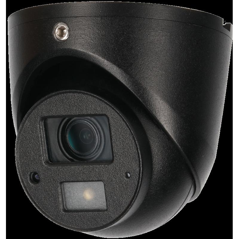 Dahua Ενσύρματη Κάμερα Dome  με ενσωματωμένο μικρόφωνο  2MP, με φακό 3.6mm και IR 20m.