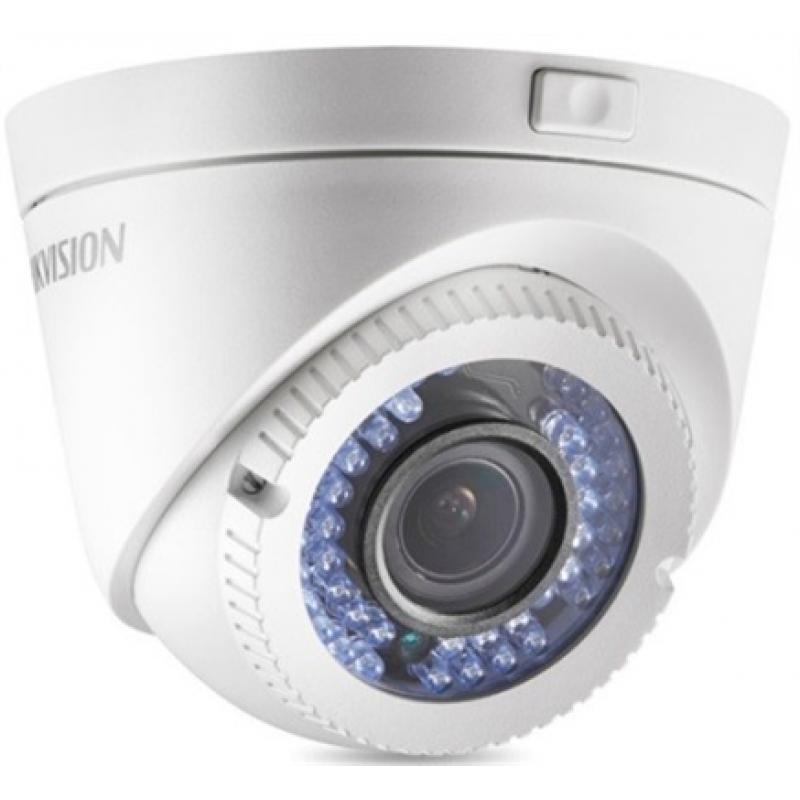 Hikvision Ενσύρματη Κάμερα Dome 2MP, με φακό Varifocal και υπέρυθρες IR40m.