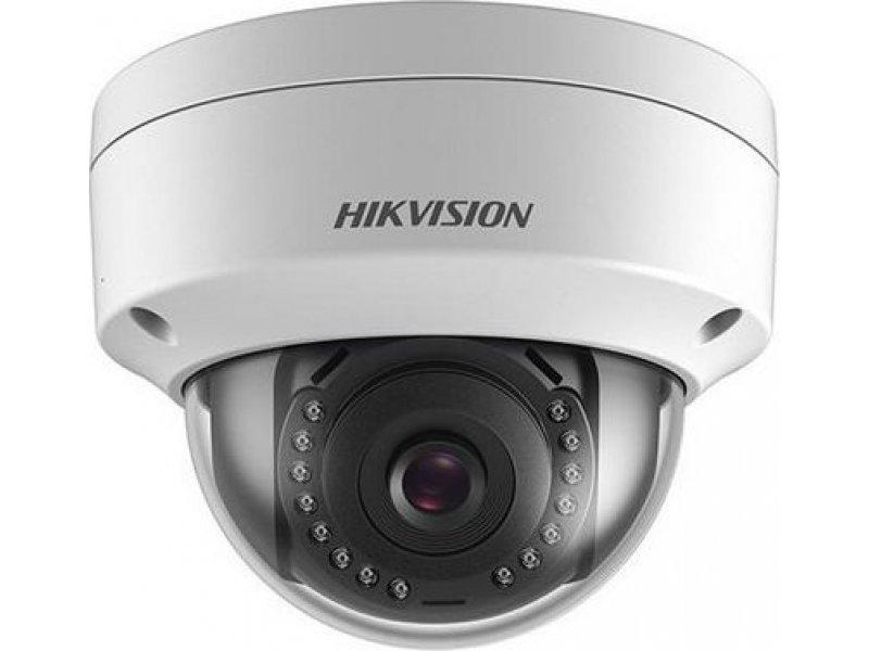 Hikvision Κάμερα IP Dome 2MP, με φακό 2.8mm και IR20.