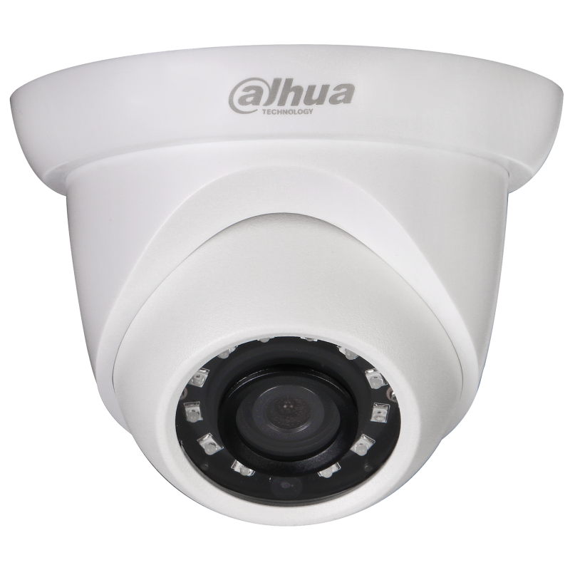 Dahua Ενσύρματη Κάμερα Starlight Dome 2MP, με 2.8mm και IR20m