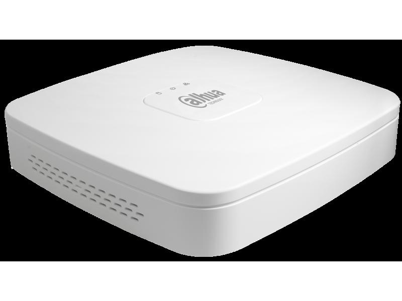 Dahua Δικτυακό Καταγραφικό IP 4 καναλιών με 1 εσωτερικό σκληρό.