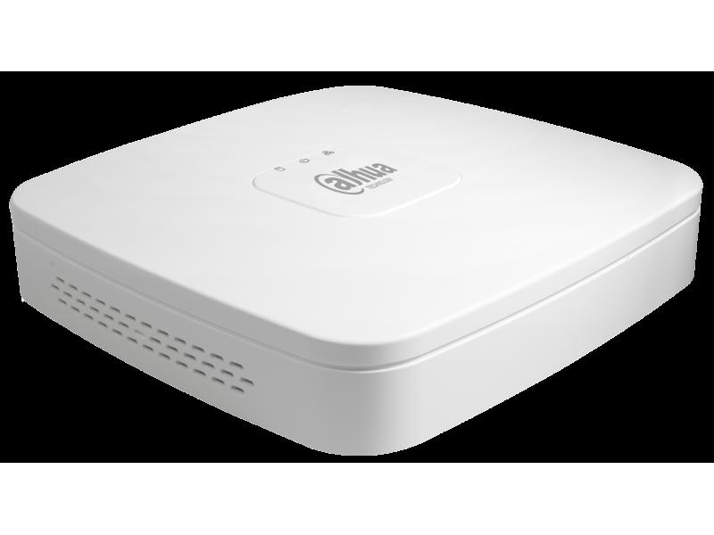 Dahua Δικτυακό  Καταγραφικό IP 4 καναλιών με 4 PoE και με 1 εσωτερικό σκληρό.