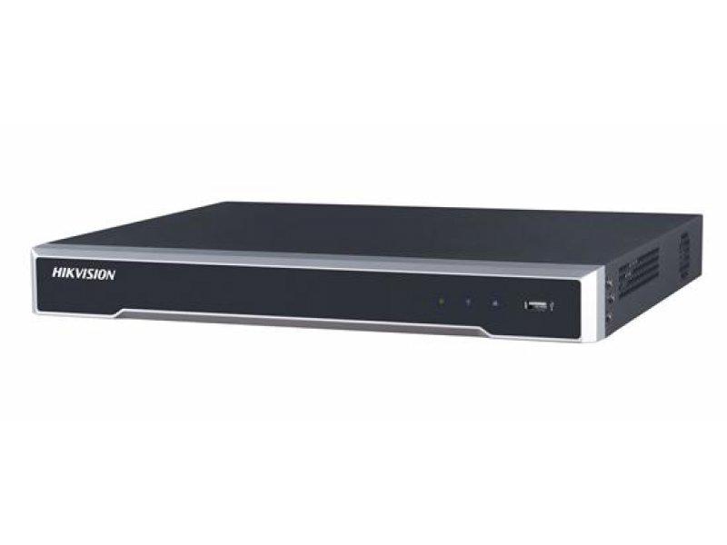 Hikvision Δικτυακό Καταγραφικό IP 4 καναλιών, δέχεται 2 εσωτερικoύς σκληρούς.
