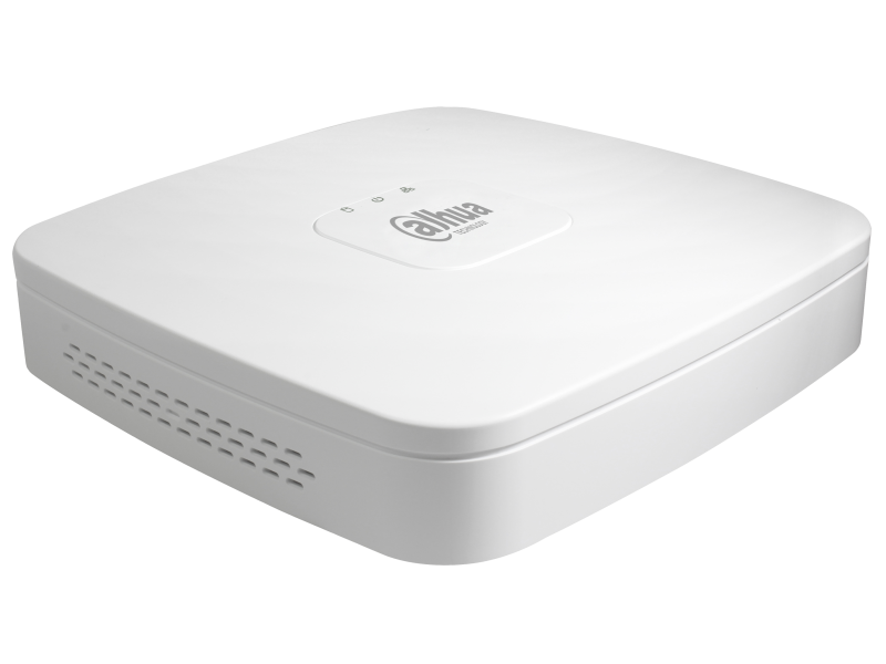 Dahua Δικτυακό Καταγραφικό IP 8 καναλιών με 4 PoE με 1 εσωτερικό σκληρό.