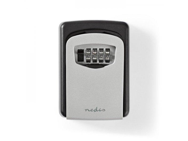 Κλειδοθήκη Ασφαλείας με συνδυασμό 4 ψηφίων, σε μαύρο χρώμα