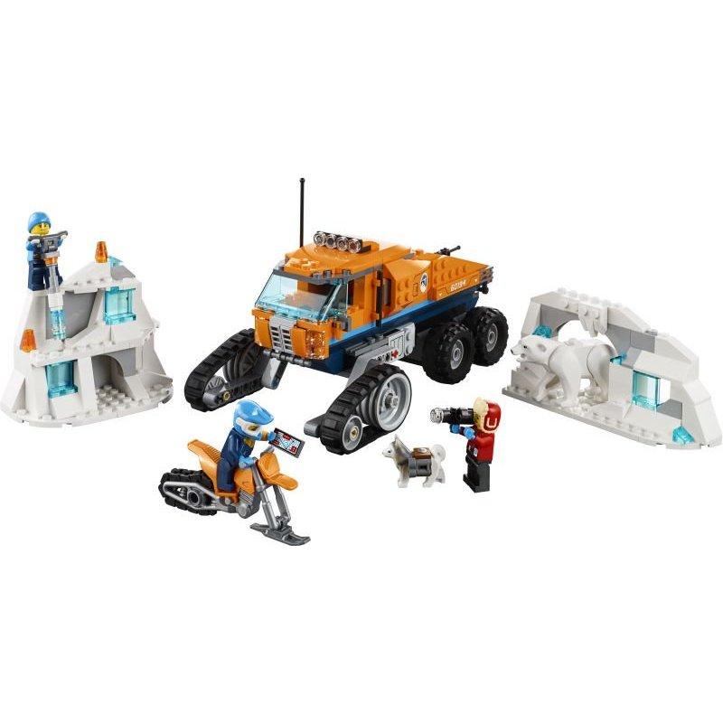 Lego City:Arctic Scout Truck Αρκτικό Ανιχνευτικό Φορτηγό (60194)