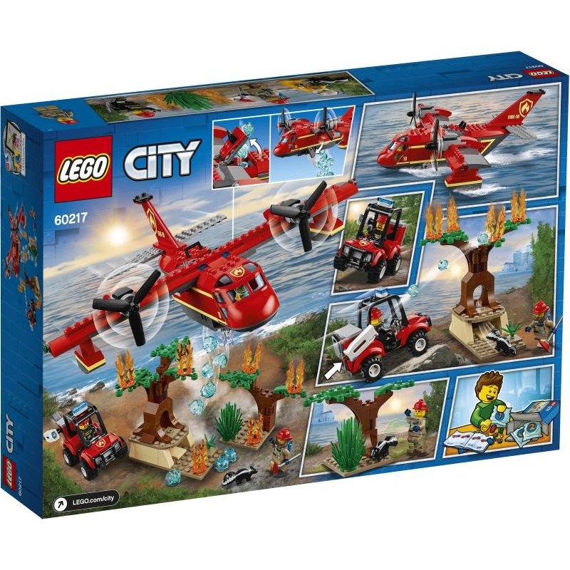 Lego City:Fire Plane Πυροσβεστικό Αεροπλάνο (60217)