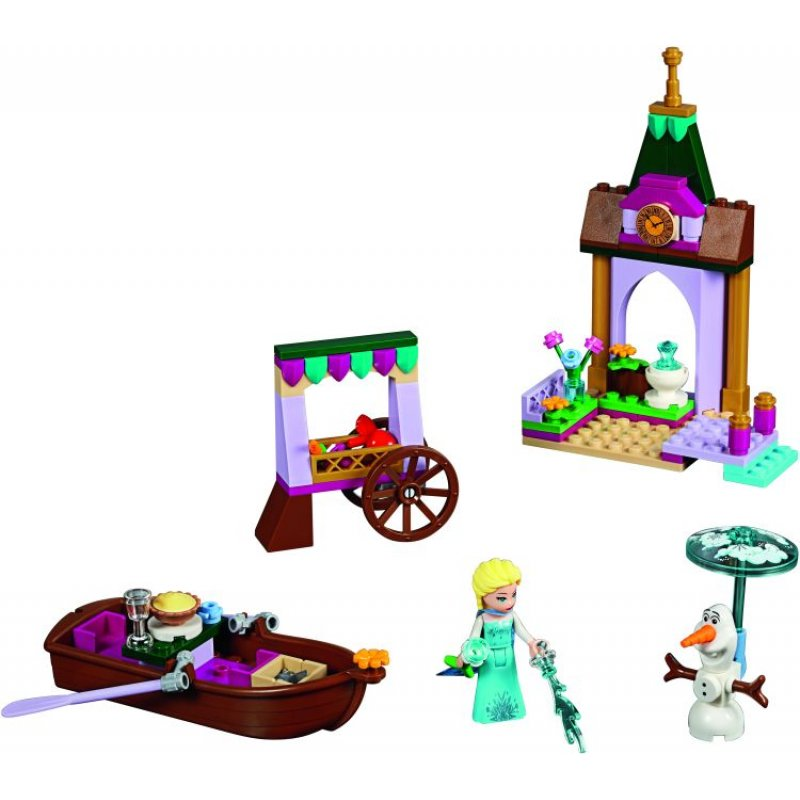 Lego Disney Build And Swap-Frozen Elsa's Market Adventure (41155)