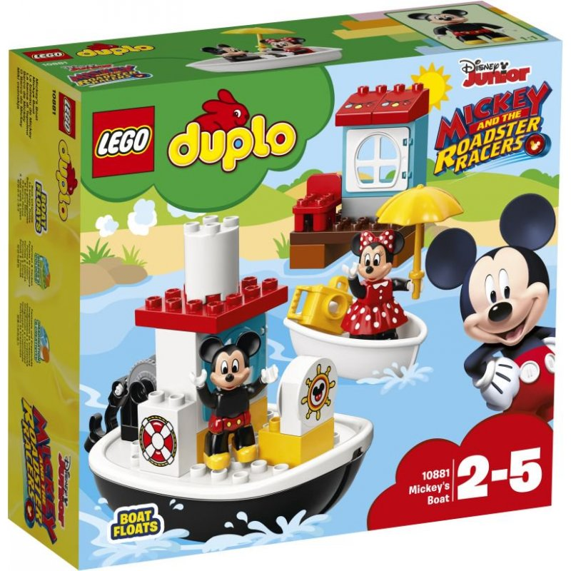 Lego Duplo: Disney Mickey And The Roadster Racer Mickey's Boat (10881)