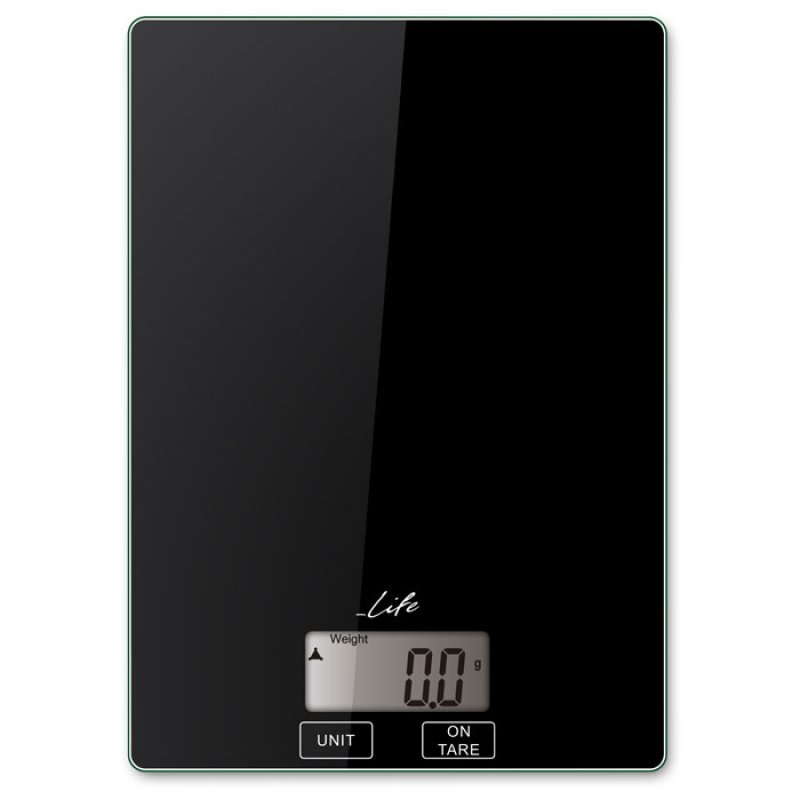221-0181 Life Accuracy Γυάλινη Ψηφιακή Ζυγαριά Κουζίνας