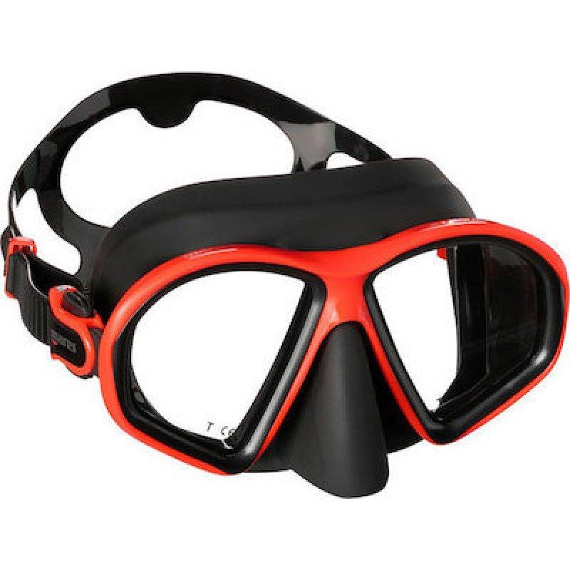 Μάσκα Θαλάσσης Mares Sealhouette Μαύρο Kόκκινο