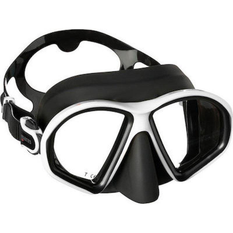 Μάσκα Θαλάσσης Mares Sealhouette Μαύρο Λευκό